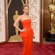 Doesn't get better than JLaw's 2014 Oscar look!