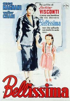 BELÍSSIMA (Bellissima) Directed by:Luchino Visconti Starring:Walter Chiari, Anna Magnani