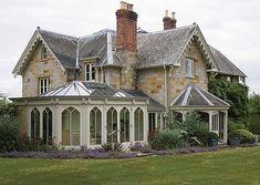 Victorian Conservatory #conservatorygreenhouse