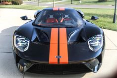 The Ford GT has one of the most legendary supercar designs in the world, built as an homage to the 1964 race car Ford Used Luxury Cars, Luxury Cars For Sale, Rolls Royce Ghost Black, Ford Gt For Sale, Aston Martin Dbs, Forged Wheels, Ford Gt40, Car Prices, Unique Cars