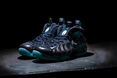 """Nike is letting us know that the Foamposites are making a reemergence in  Here is the Nike Air Foamposite Pro """"Obsidian"""". This sneaker features a dark  ... d90567677"""