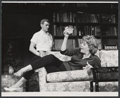 Who's Afraid of Virginia Woolf.  Original Cast featuring the great Uta Hagen. 1963