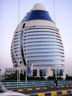 Corinthia Hotel, Khartoum, Sudan. Best Hotels, Amazing Hotels, Western Sahara, African Animals, Amazing Architecture, Sudan Khartoum, Peregrine, Cities, Ios