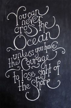 THURSDAY THOUGHTS CROSSING THE OCEAN
