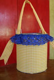 AYYYY...Que rico!: Upcycled Easter Baskets
