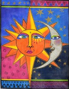 Sister Sun & Brother Moon - Laurel Burch