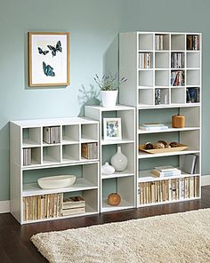 Bespoke Modular Storage - Pin it to Win it! Versatile storage units / shelves - would be brilliant for my sewing room / home office. Modular Storage, Storage Units, Storage Ideas, Second Hand Furniture, Living Room Storage, My Sewing Room, Stylish Home Decor, Decoration, Home Furnishings