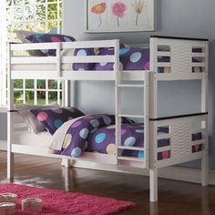 ACME Furniture Florrie Twin Over Twin Bunk Bed