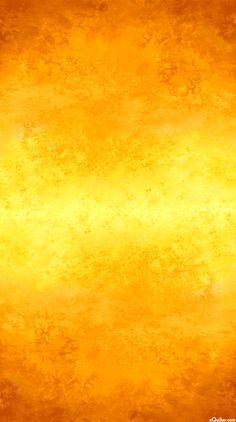 Falling Leaves - Sun Dappled Ombre - Golden Yellow
