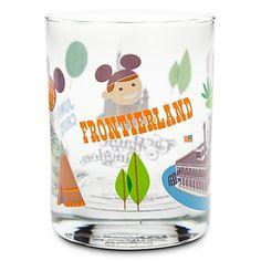 Walt Disney World Frontierland Glass by Shag, Love the Shag retro look.