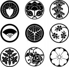 8817990-japanese-family-crests.jpg (1200×1167)