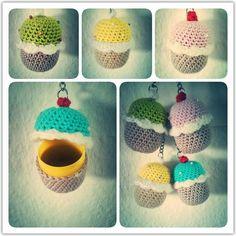Crochet surprise egg