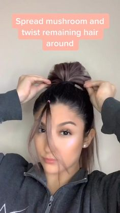 Cute Simple Hairstyles, Easy Hairstyles For Long Hair, Everyday Hairstyles, Wedding Hairstyles, Easy School Hairstyles, Teen Girl Hairstyles, Side Bun Hairstyles, Short Hair Bun, Heatless Hairstyles