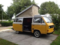 Our little volkswagen T25 camper....