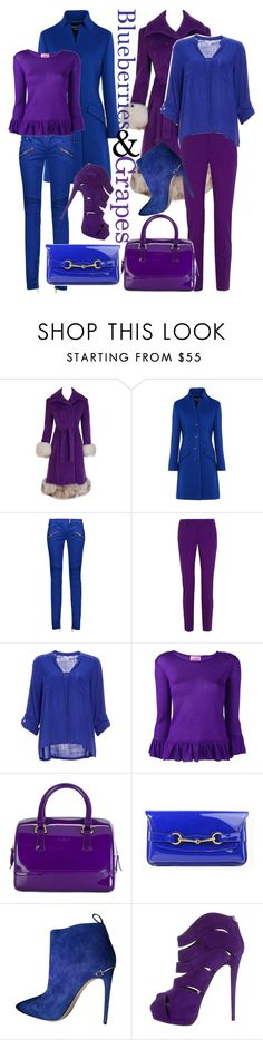 """""""Have Nothing On These"""" by april-wilson-nolen ❤ liked on Polyvore featuring Boutique Moschino, Balmain, Gucci, BB Dakota, D'enia, Furla and Giuseppe Zanotti"""