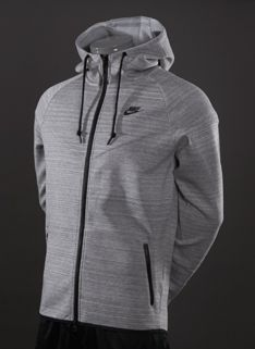 Nike Sportswear Tech Windrunner 1.0 - Mens Running Clothing - Dark Grey Heather-Base Grey-Black