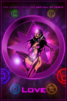 The Lantern Corps - Star Sapphires by KPants on DeviantArt