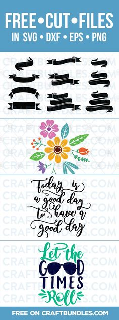 Free SVG Files – Craft Away! free svg files for cricut, silhouette, baby,