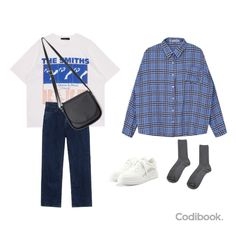 Teen Fashion Outfits, Retro Outfits, Cute Casual Outfits, Stylish Outfits, Vintage Outfits, Korean Street Fashion, Korea Fashion, Asian Fashion, Look Fashion