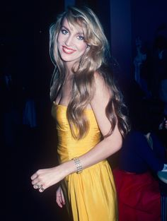 Jerry Hall: Then from Supermodels: Then and Now   E! Online