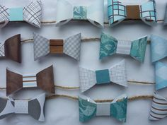 Bow tie party decorations garland  banner by CreationsbyTraysa, $18.00