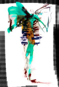 Fashion illustration by Agnieszka Stopyra, graduate of Fashion School SAPU. :) #szkolamody #fashionschool