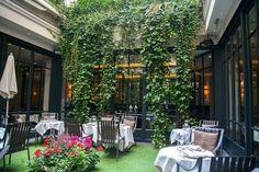 Restaurant Le Baudelaire // Hôtel le Burgundy (Paris 1)