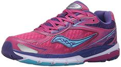Saucony Girls Ride 8 Sneaker (Little Kid/Big Kid) ** Be sure to check out this awesome product.