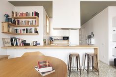 Apartment designed by Nook Architects. Barcelona, #Catalonia
