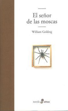 Spanish language copy of William Golding's 'The Lord of the Flies' as received from Edhasa