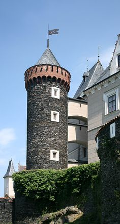 Žleby castle (Central Bohemia), Czechia #castles #Czechia #architecture…