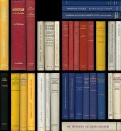 Una biblioteca de Mondrian♥