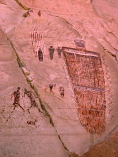 The Great Gallery, Horseshoe Canyon, Canyonlands National Park, Utah by Dr. Doc, via Flickr