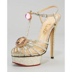 Amazing Jeweled Heels - My Color Fashion via Polyvore