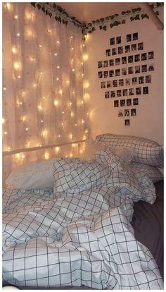 Cute Bedroom Ideas, Cute Room Decor, Girl Bedroom Designs, Room Ideas Bedroom, Bedroom Inspo, Girls Bedroom Colors, Diy Bedroom, Bedroom Small, Teen Bedroom Makeover
