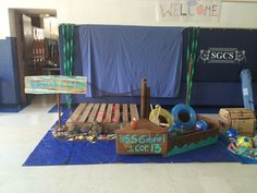 Set for Sontreasure Island VBS