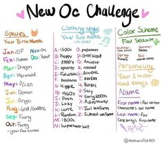 Art Style Challenge, Oc Challenge, Drawing Challenge, Art Journal Challenge, Drawing Ideas List, Drawing Tips, Oc Drawing Prompts, Art Tutorials, Drawing Tutorials