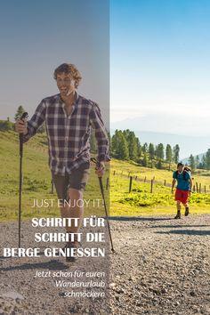 Jetzt schon mal für euren Wanderurlaub schmöckern Bergen, Baseball Cards, Tourism, Hiking, Mountains