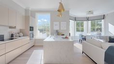 Blush cabinets add to the luxe and sunny atmosphere of this Irish home in Ireland - SieMatic kitchen in Bloomfield House by Arena Kitchens Life Kitchen, Kitchen Island, Minimalist Design, Pure Products, Interior, Kitchens, House, Ireland, Cabinets