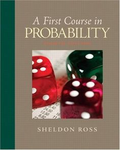 I'm selling A First Course in Probability (8th Edition) by Sheldon Ross - $10.00 #onselz