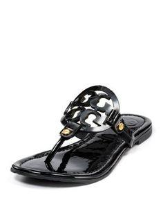 483d4e183f93cf Tory Burch Miller Black Tory Burch Sandals