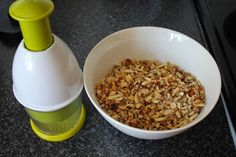 Vanilla Blonde: Nut Granola from The Real Meal Revolution