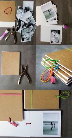 Ideas Gift - Phot Album - DIY {Pomysł na prezent, czyli jak samemu wykonać album}