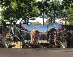 """Welin &  Balstroem, """"At my signal! Unleash hell!"""" for Step in the Arena (SITA) in Berenkuil, Eindhoven, Netherlands, 2017"""