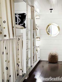 Beach House Decorating | Nautical Home Interiors: Kid's Rooms! | http://nauticalcottageblog.com