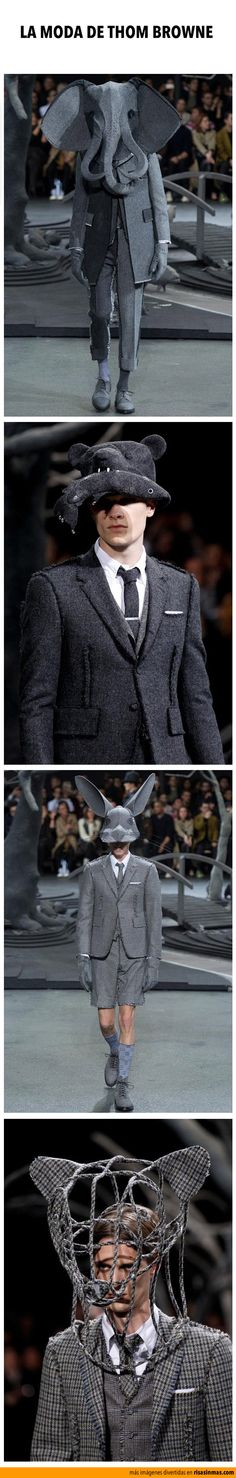 La moda de Thom Browne.