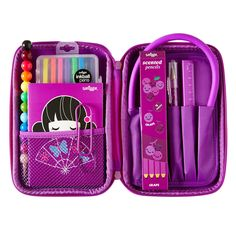 From kids stationery, kids tech accessories, food and drink accessories to jewellery and beyond, your BFFs and teachers will love these gifts from our Smiggle range. Cool Stationary, Stationary School, Cute Stationery, Unicorn Fashion, School Accessories, Pencil Pouch, Pencil Cases, Back To School Supplies, Too Cool For School