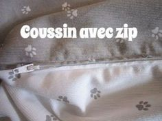 Sewing for beginners: Sew a cushion with an easy zipper Sewing Online, Couture Sewing, Sewing For Beginners, Free Sewing, Sewing Tutorials, Cushions, Zipper, Tote Bag, Bags