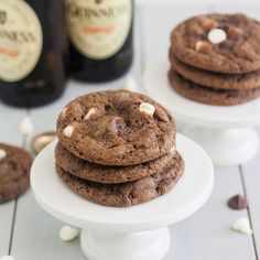 Triple Chocolate Guinness Cookies by Tracey's Culinary Adventures, via Flickr