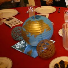 I have some close friends who run a non-profit that does mission trips around the world, and I agreed to help them decorate tables for th...